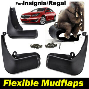 4X For Vauxhall Opel Insignia MK1 09-17 Saloon Hatchback Mud Flaps Splash Guards