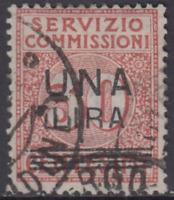 ITALY Regno - Servizio Commissioni Sassone n.4 cv 180$  used