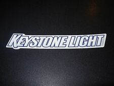 KEYSTONE LIGHT Text Logo STICKER decal craft beer brewery brewing