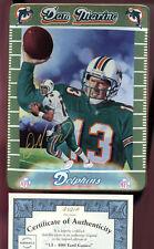 1998 Dan Marino Record Breaker Yard Games Miami Dolphins Bradford Exchange Plate