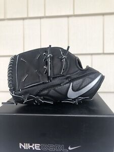 Nike BSBL Hyperfuse Elite Pro MVP 12.0 baseball glove left hand throw black