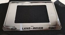 Land Rover Number Plate Holders Freelander Discovery Support De Plaque