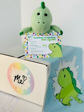 Pickle Crochet Plushie LIMITED Handmade by Moriah Elizabeth's Mom Signed Cert #3