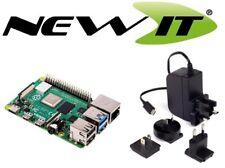 Raspberry Pi 4 Model B 2GB RAM with 5.1V 3A USB-C Multinational Power Supply