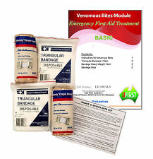 UFirst First Aid Kit Module : Safe Work Australia Basic Venomous Bites Complete