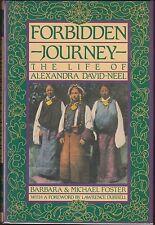 Forbidden Journey: The Life of Alexandra David-Neel 1987 SIGNED HC/DJ 1ST~TIBET