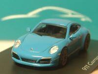 Spark Porsche 911 Carrera S miami blue, dealer model - 1:87