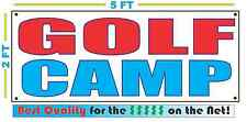 GOLF CAMP Banner Sign Larger Size Best Quality for the $ Pro Shop Course Club