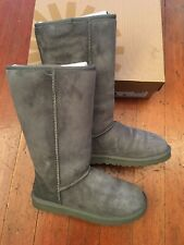 UGG Womens Classic Tall Grey Fashion Boots Size 8 5815