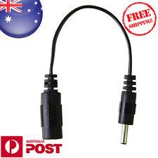 18cm 3.5 x 1.3 mm Male Plug to 5.5 x 2.1mm female socket DC Power Adapter Z347F
