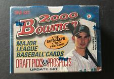 2000 Bowman Baseball Draft Picks & Prospects Update Set Sealed Mint Auto