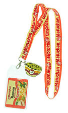 Maruchan Ramen Noodles Lanyard ID Badge Holder With Rubber Charm Pendant