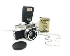 Vintage Minolta Hi-Matic 7s camera With Suprema Gf-100 QuickFlash