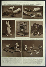 Queen Elizabeth II Faberge Animal Collection 1953 1 Page Photo Article