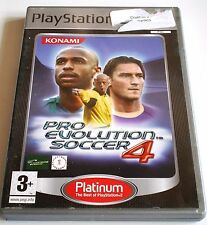 Pro Evolution Soccer PES 4 for Playstation 2 PS2 - Platinum