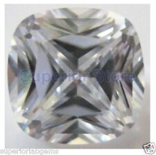 7 x 7 mm 1.75 ct  CUSHION  Cut Sim Diamond, Lab Diamond WITH LIFETIME WARRANTY