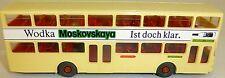 MOSKOVSKAYA BUS PUBBLICITARIO 69 Reichstag stampato MAN SD 200 AUS WIKING 1:87