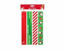 80 Paper Chains Christmas Hanging Decoration Tree Make Your Own Assorted Strips
