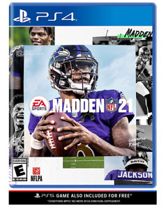 Madden NFL 21 for Sony PS4/PS5 Upgrade (NEW SEALED) Fast Ship 2020 Release