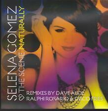 "SELENA GOMEZ & THE SCENE: ""NATURALLY"" PROMO REMIXES CD SINGLE 2010"