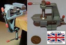 "36mm 3.5"" mini Portable table clamp Jewellery Makers Vice-UK STOCK-FREE P&P"
