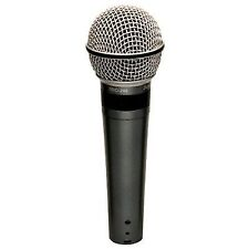 Superlux Pro248s Supercardioid Dynamic Studio Vocal Microphone With On/off SWITC