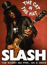 Slash: The Cat in the Hat [2 Discs] [DVD/CD] (2012, DVD NEUF)2 DISC SET