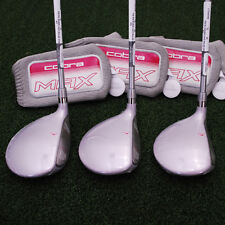 Cobra Golf MAX OS Offset Fairway 3, 5 & 7 Wood Set - Graphite Ladies - NEW