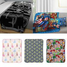 Children Character Throw Blanket Novelty Super Soft Fleece Bed Blanket 130 X 170
