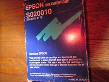 New Genuine Epson S020010 Black Ink Cartridge Fits SQ-870 SQ-1170