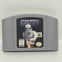Star Wars Shadows Of The Empire Nintendo 64 N64 - Tested & Works Great!