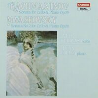 ikolay Myaskovsky^Sergey Rachmaninov - Rachmaninov: Sonata for Cello [CD]