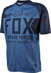 Fox Racing Indicator s/s Jersey Heather Blue