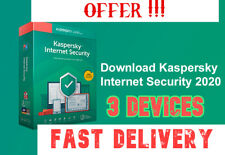 Kaspersky Internet Security ( 1Year / 3Pcs ) Limited Offer !! | Fast Delivery |