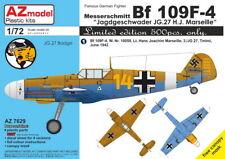 AZ Models 1/72 Messerschmitt Bf-109F-4 'Jagdgeschwader JG.27 H.J. Marseille' # 7