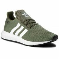 SCARPE ADIDAS ORIGINALS DONNA SWIFT RUN W AQ0866 VERDE GREEN NUOVE ORIGINALI