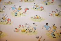 Flat sheet old year 1970/1980 football / drap plat ancien année 1970/1980 foot