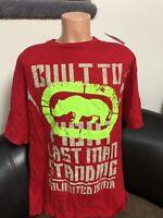 New Men's  Ecko Unltd MMA Last Man Standing Rhino Red Rhino Size XL