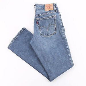 LEVI'S 550 Blue Denim Relaxed Bootcut Jeans Womens W28 L30