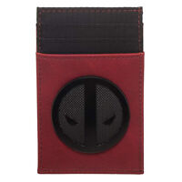 Marvel Deadpool Credit Card Holder Red Wallet NEW IN STOCK