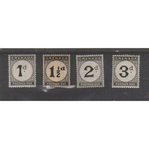 Grenada 1921-23 Postage Stamps 4 Val MNH MF78304