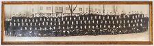 Antique Panoramic Black & White Photograph US Navy Flight School by Mehl 1943