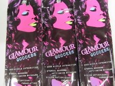 5 PACK - GLAMOUR GODDESS 300X SIZZLE INTENSIFIER SAMPLE PACKETS TANNING LOTION