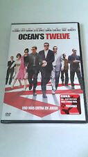 "DVD ""OCEAN'S TWELVE"" PRECINTADA STEVEN SODERBERGH GEORGE CLOONEY BRAD PITT"