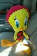 "Large Tweety Bird Plush huge 16"" Ladybug Costume Looney Tunes Warner Bros. Toy"