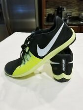 Men's Nike Zoom Forever XC 5 Spike Size 10 904723 017 Black / Volt - Victory XC