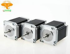Stepper Motor 3PCS NEMA23 270 oz-in 3.0A 23HS8430 57BYGH CNC Mill Cut