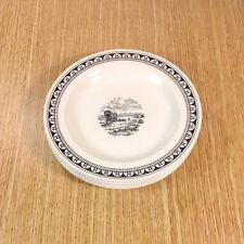 "WEDGWOOD Kansas City Service WESTERN COVERED WAGON 6"" Bread Plates (4) *MINT*"