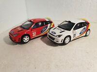 QQ C 2427 W Scalextric UK Ford Focus Rally #31 C 2428 W #32