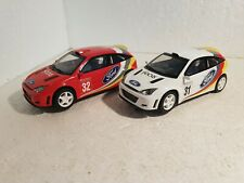 qq C 2427 W SCALEXTRIC UK FORD FOCUS RALLY #31 C 2428 W FORD FOCUS RALLY #32